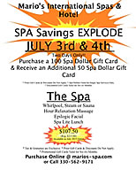 Click to view July Specials